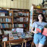 Книжная выставка-просмотр «Летнее путешествие с книгой».